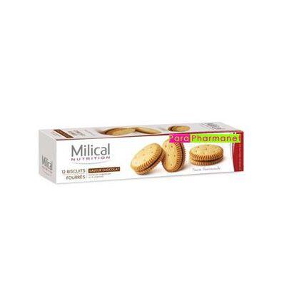 Biscuits fourrés saveur chocolat régime Milical