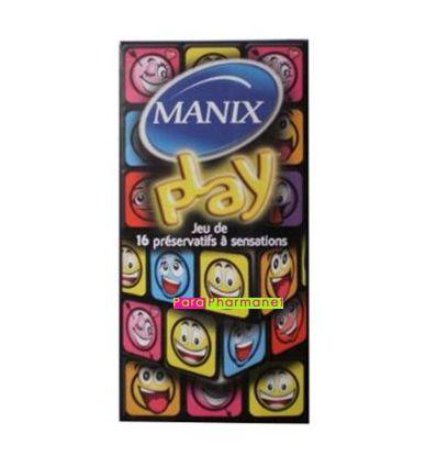 Manix play game of 16 condoms manix