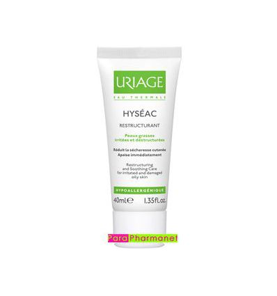 HYSEAC restructuring soothing care Uriage