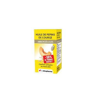 Arkogélules oil of pepins of summer squash 45/FL