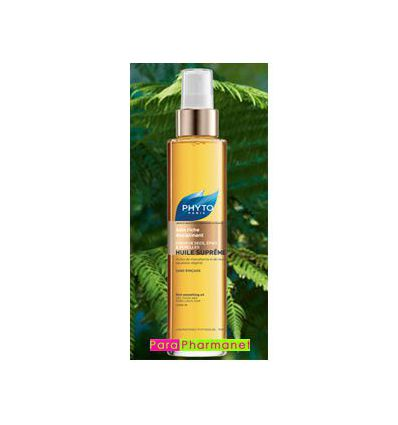Supreme oil, dry hair Phyto, Rich smoothing oil