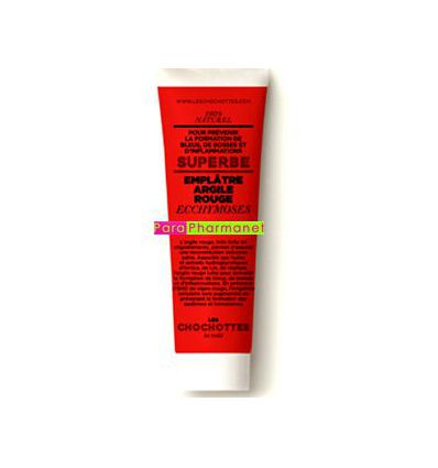 Plaster Red Clay Bruises les Chochottes tube 75 ml