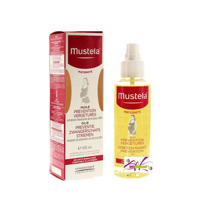MUSTELA HUILE PREVENTION VERGETURE 9€SOIN MATERNITE
