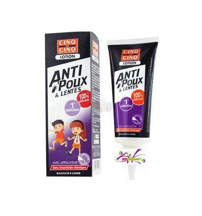 LOTION anti poux & lentes 100 ml cinq sur cinq