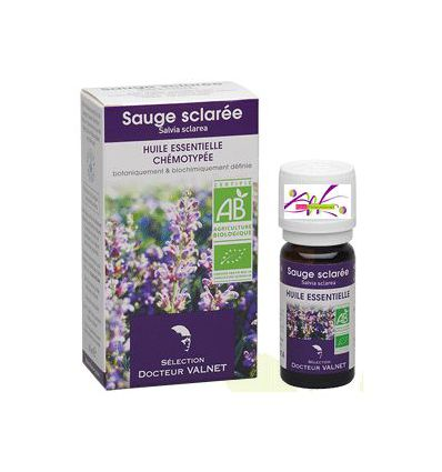 Essential oil Clary sage Organic Doctor Valnet